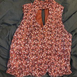 Sleeveless High neck dress